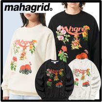 ☆送料・関税込☆mahagrid☆flower shop sweatshirt☆2色☆