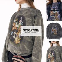 SCULPTOR【送料込】Puppy Friends Tie-Dye Sweatshirt 3色