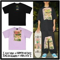 I AM NOT A HUMAN BEING(ヒューマンビーイング) Tシャツ・カットソー ★Seventeen Hoshi着用★I AM NOT A HUMANBEING★ロゴTシャツ★