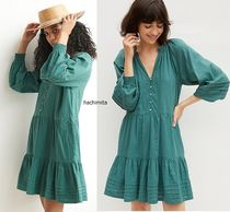 セール☆Anthropologieオリジナル☆ Carrie Tiered Tunic Dress