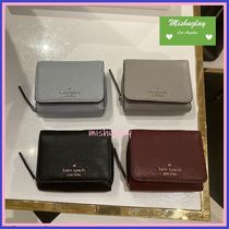 【kate spade】柔らかレザー三折り財布♪jackson small trifold