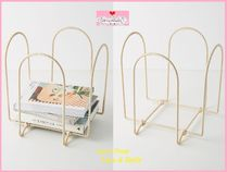 最安*関税送料込【Anthro】Lara Rattan-Wrapped Magazine Holder