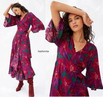 セール! Farm Rio Vieques Wrap Maxi Dress