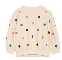 "ARKET(アーケット) キッズ用トップス ""ARKET KIDS"" Embroidered Sweatshirt LightBeige"