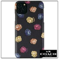 【Coach】コーチ☆ iPhone 11 Case☆ Peony Rainbow/Black