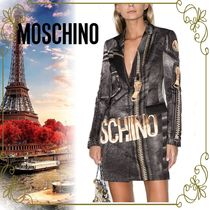 【MOSCHINO MADE IN ITALY!!】Macro Biker ライダースジャケット