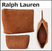 【RALPHLAUREN】Roughout Suede Pouch ラルフローレン ポーチ