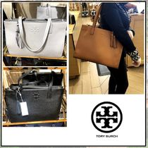 Tory Burch☆ THEA leather tote ☆ レザートート ☆送料込