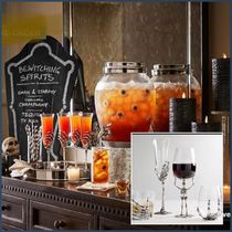 Pottery barn Halloween glass