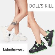 DOLL'S KILL★2color PLATFORM SNEAKERS☆厚底ソールがcute♪