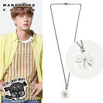 【Wanderingyouth】Pearl Daisy Necklace ★BTS ジン着用★