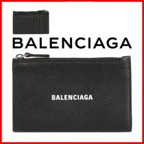 ◆BALENCIAGA◆Logo zipped card holder◆正規品◆