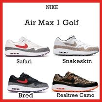 Nike Air Max 1 Golf Snakeskin Safari Bred Realtree Camo