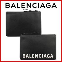 ◆BALENCIAGA◆Logo clutch bag◆正規品◆