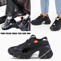 PUMA★PULSAR WEDGE TECH GLAM WNS★ウエッジ★厚底