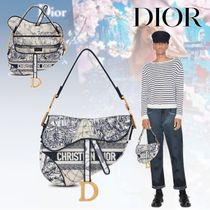 20AW【Dior】SADDLE バッグ Diour Around the World