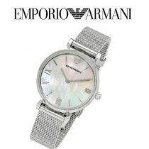 AR1955 Mother of Pearl & Silver Stainless Steel Mesh