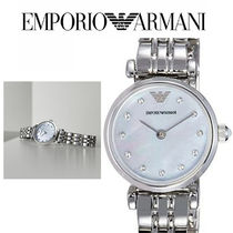 EMPORIO ARMANI(エンポリオアルマーニ) アナログ腕時計 AR1961 Silver Mother of Pearl Dial