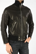 Diesel LEATHER L-LYSSEN JACKET