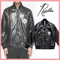 ☆新作!送料関税込☆NEEDLES AWARD JACKET - FAUX LTHR.