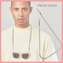 ☆送料関税込☆Frame Chain DIAMOND GEEZER in WHITE GOLD