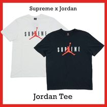 Supreme nike air Jordan Tee Black White 2015 FW 15