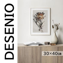 ★DESENIO★DRIED FLOWER POSTER・30×40㎝★花・写真