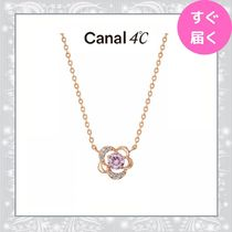 【canal 4℃】フラワーモチーフ ネックレス