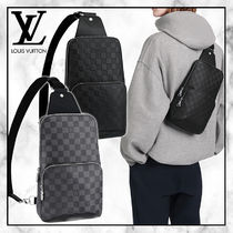 ◆Louis Vuitton 20AW 最新◆AVENUE ダミエスリングバッグ◆2色