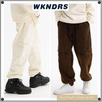 日本未入荷WKNDRSのCARGO SWEAT PANTS 全2色