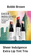 〈Bobbi Brown〉★人気★Sheer Indulgence Extra Lip Tint Trio