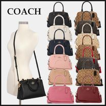 SALE!【国内発送】COACH Mini Lillie Carryall 2way