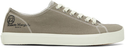 MAISON MARGIELA ▲ TABI CANVAS SNEAKERS TAUPE タビスニーカー