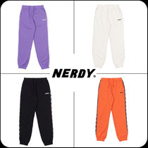 [ NERDY ]★韓国大人気★Big N Tape Sweatpants