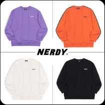 [ NERDY ]★韓国大人気★ Big N Tape Sweatshirt