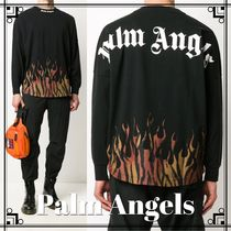 【Palm Angels】ロゴ Tシャツ プリント ブラック☆関税込み!!
