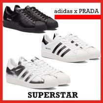 adidas X PRADA Superstar WHITE BLACK SILVER  FW 20
