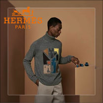【20AW☆直営店買付】HERMES☆ Mix and matchセーター