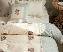 【DECO VIEW】French flower wash blanket cover+Pillowcase-Q