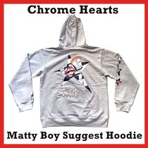 Chrome Hearts Matty Boy Suggest Hoodie HOODED Grey