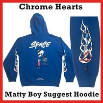 Chrome Hearts Matty Boy Space Hoodie HOODED Blue