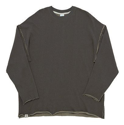A NOTHING Tシャツ・カットソー BTSジョングク着用A NOTHING VINTAGE P. DYEING CUT-OUT BOX TEE(6)
