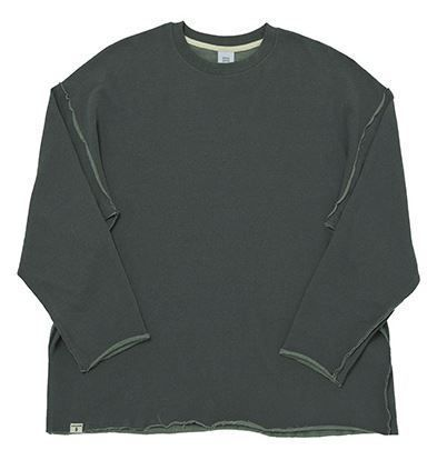 A NOTHING Tシャツ・カットソー BTSジョングク着用A NOTHING VINTAGE P. DYEING CUT-OUT BOX TEE(7)
