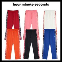 [HOUR MINUTE SECONDS] LINEAR TRACK PANTS 6COLOR 韓国アイドル