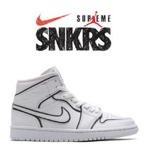 【NIKE】W AIR JORDAN 1 MID SE WHITE
