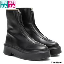 The Row(ザ・ロウ) ショートブーツ・ブーティ 関税込 THE ROW Zipped 1 leather ankle boots 409181