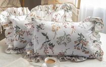 【DECO VIEW】Flan Flower Frill Pillow Cover