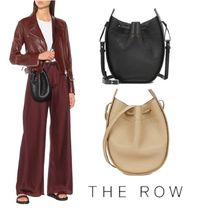The Row(ザ・ロウ) ショルダーバッグ・ポシェット 【関税・送料込】The  Row  drawstring leather shoulder bag