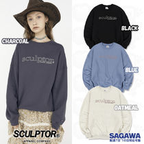 ★SCULPTOR★20FW Retro Outline Sweatshirt