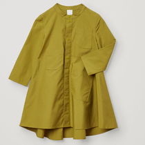 """COS(コス) キッズワンピース・オールインワン """"COS KIDS"""" COTTON DRESS WITH POCKETS GREEN"""